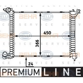 Radiateur, refroidissement du moteur MINI 3/5 portes (R50, R53) (1364 , 75 - 88 CH)