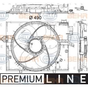 Ventilateur, refroidissement du moteur E60