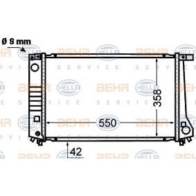Radiateur de refroidissement du moteur E36