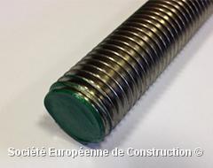 TIGE FILETÉE INOX A2 8mm 1m