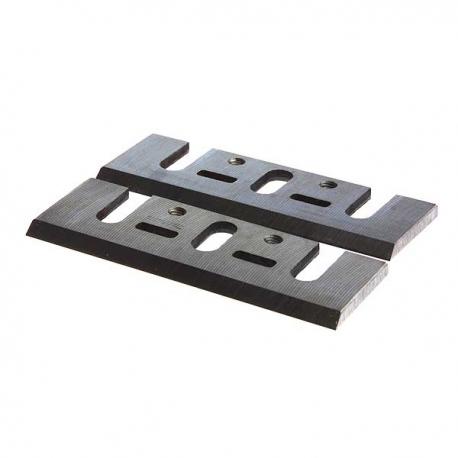 Jeu de fers réaffutables pour rabots Taille 155mm, HSS, Qté 2