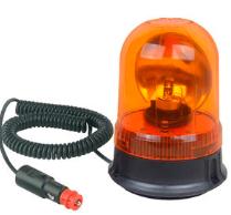 Gyrophare orange halogène avec fixation magnétique L2280-C
