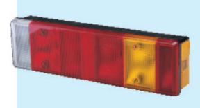 Feu arrière 8 fonctions pour camions Cobo 1010352