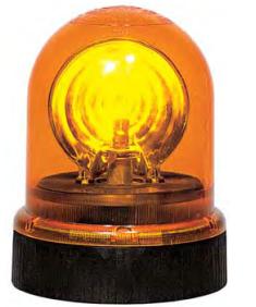 Gyrophare orange pour véhicule industriels et travaux publics Sirena 74104