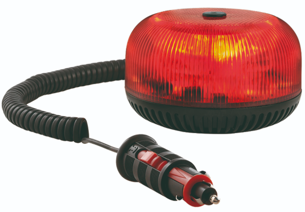 Gyrophare rouge LED avec fixation magnétique Sirena 36396