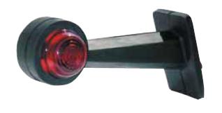 Feu latéral blanc-rouge Melchioni L2350