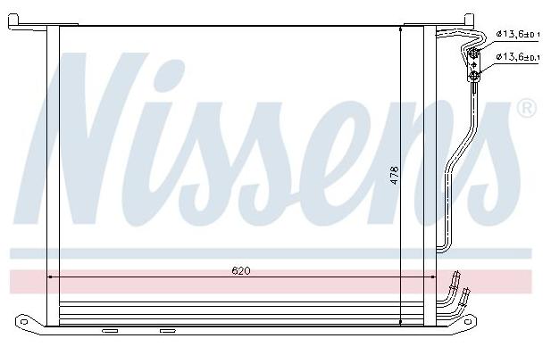 Condenseur Mercedes W220