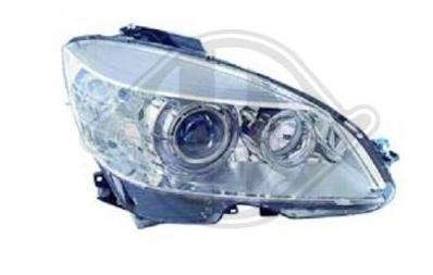 Phare droit Mercedes W204