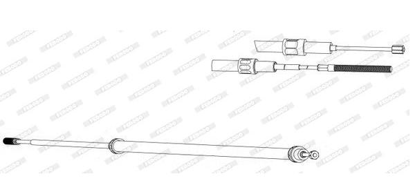 Cable de frein à main BMW E39