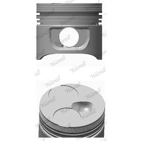 Piston avec porte-segment  87.00 M601-M602