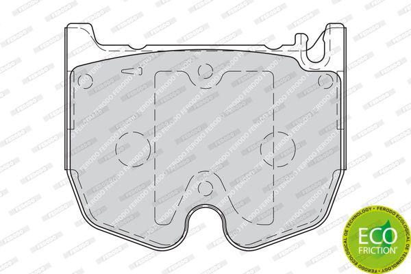 Kit de plaquettes de frein, W211 S55-W220(5320)