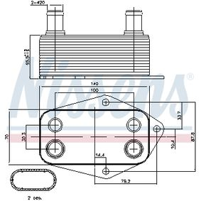 Radiateur d'huile E46 M47
