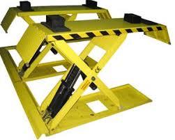 Ponts à ciseaux montée basse et haute pour pneumatique