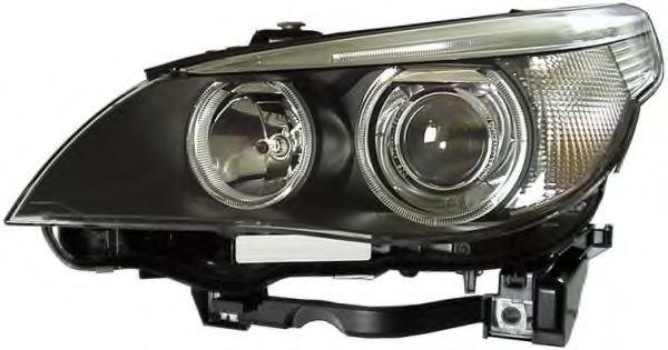 Phare gauche, D1S (lampe à décharge), H7 Xénon E60